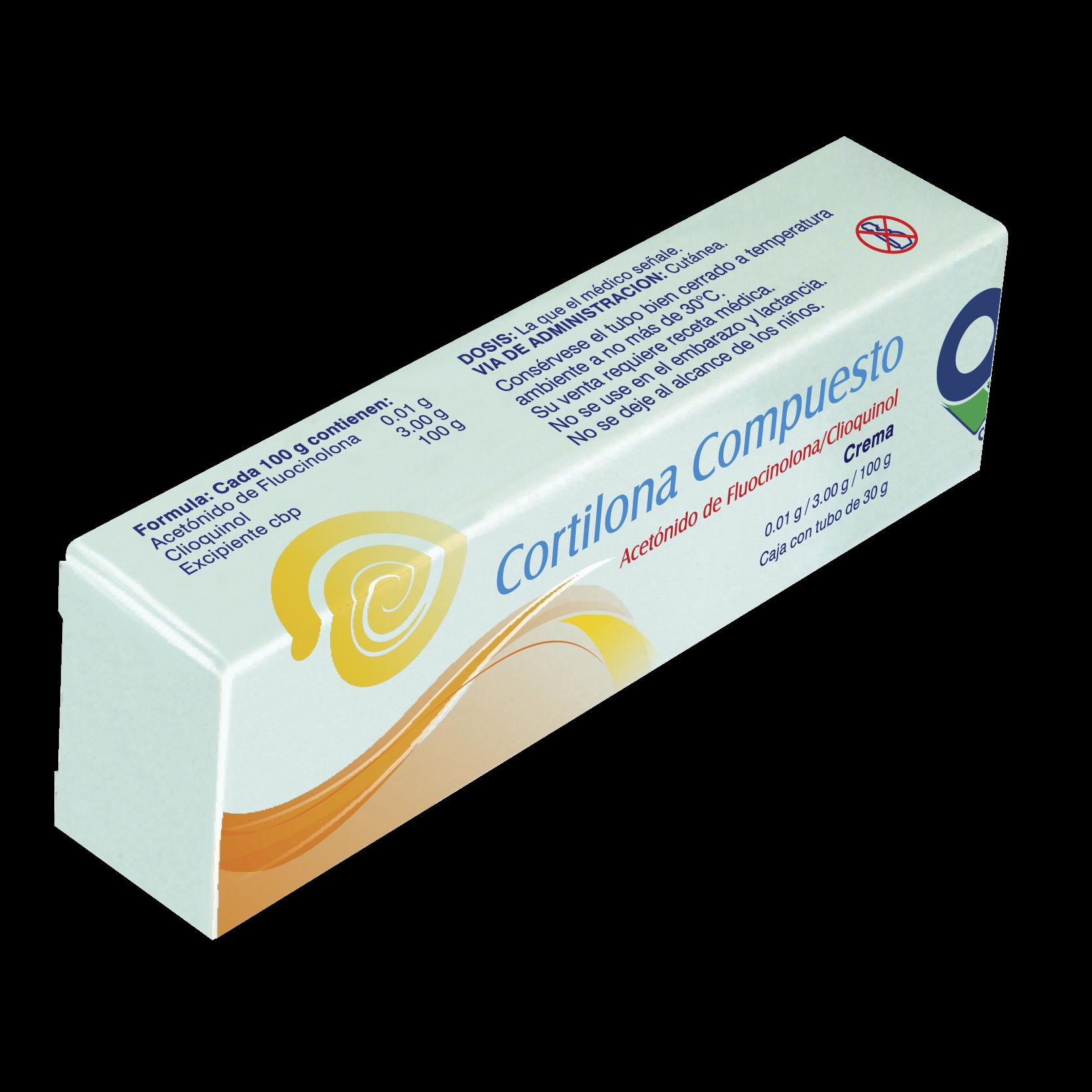 Cortilona compuesto