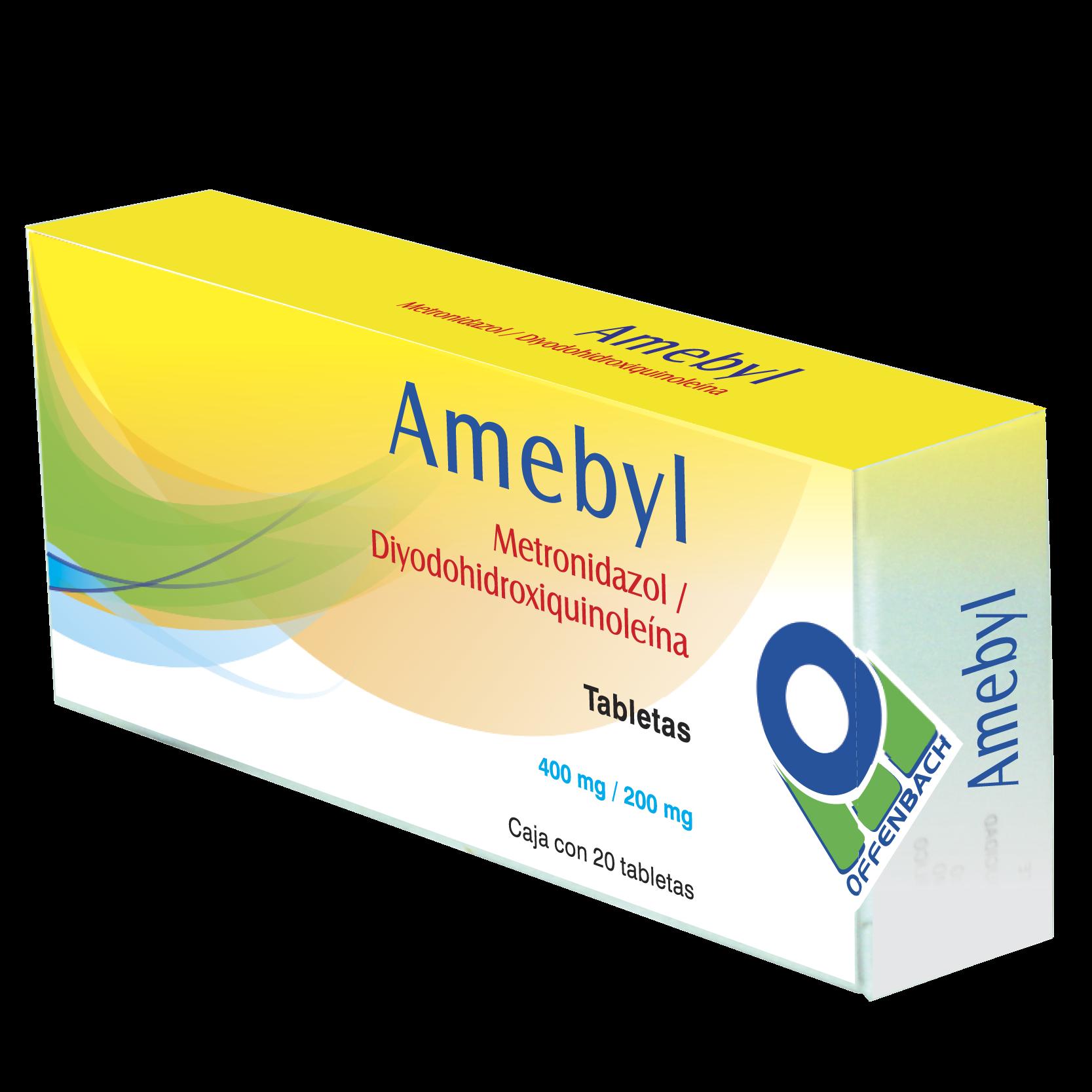Amebyl tabletas